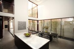 Modern Dining Room - modern - dining room - seattle