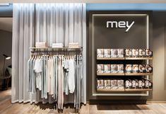 Mey lingerie store by Konrad Knoblauch, Constance – Germany Shop Interior Design, Retail Design, Lingerie Store Design, Underwear Store, Bath And Beyond Coupon, Design Blog, Online Shopping Clothes, Clothing Stores, Boutique