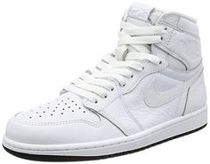 3a7955695bcb Air Jordan 1 Retro High OG Perforated Men Lifestyle Sneakers New White - 11