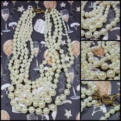 NEW J.Crew twisted Multi Strand Pearl Statement Necklace Work chic boss babe  #JCREW #Statement #femaleentrepreneur #Femaleownedbusiness#newyorkfashionweek #fashion#chic #bossbabe #Jcrew #fashionblogger  # #classic #timeless #J.crew #forsale #ebay #aesthetic #shopping #shop #aesthetic #artistic #art #artform #beauty   #jewelry  #pearls #pearl