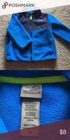 12m Fleece Jacket Boys Fleece Jacket.  Very Gently Used Champion Jackets & Coats