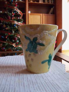 Tazza con tartarughe - Mug with turtles
