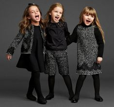 kids wear in dollce&gabbana Little Girl Outfits, Little Girl Fashion, Kids Fashion, Fashion Top, Modest Fashion, Trendy Fashion, Winter Fashion, Luxury Fashion, Outfits Niños