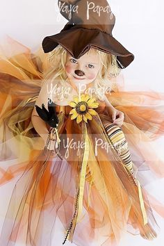 Lil' Scarecrow Halloween Costume Set by yayapapaya on Etsy