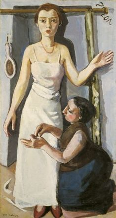 Marie-Louise von Motesiczky: At the Dressmaker's, 1930 (35)