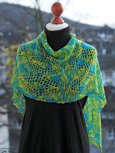 New lacy slip stitch crochet! Ravelry: Rauten ohne Fransen pattern by Tanja Osswald