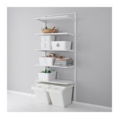 Jugendzimmer ikea katalog  SORTERA Waste sorting bin with lid, white | Ikea, Recycling bins ...