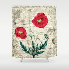 Romantic Shower Curtain