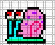 Minecraft Pixel Art Templates: Gary
