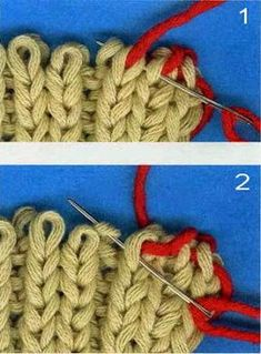 Diy Crafts - schlie,stricknadeln-Switch to the dark mode kinder on your eyes at night time. Knitting Videos, Easy Knitting, Double Knitting, Knitting Stitches, Knitting Needles, Knitting Increase, How To Start Knitting, Crochet Designs, Knitting Designs