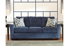 Love this sofa from Ashley Furniture. Living Room On A Budget, New Living Room, Small Living Rooms, Living Room Modern, Living Room Decor, Chocolate Living Rooms, Porch Chairs, Apartment Furniture, Sofas