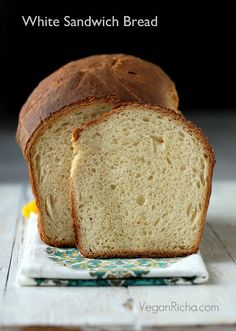 Vegan Richa: White Sandwich Bread. Vegan Recipe