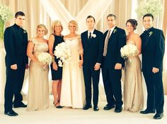 The Joseph's #tylerandjennajoseph Lemme see if I can name them all...From left to right: Jay, Maddie, Momma Joseph, Jenna and Tyler <3, Chris, Tatum and Zach :D