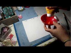 Astuce pour créer des tâches... Avec une paille ! de maska
