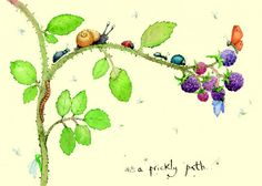 IF73 - Prickly Path - A Two Bad Mice card by Fran Evans
