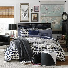 Image for HAMPSHIRE COBALT COMFORTER SET from Tommy Hilfiger USA