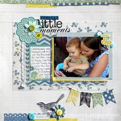Becky Litz for Scrapbooking Cafe Online-Echo Park For the Record 2