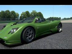Assetto Corsa - Pagani Zonda C12 - Vallelunga