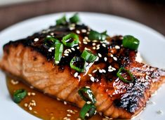 12 Romantic Valentine's Day Dinners - Toasted Sesame Ginger Salmon
