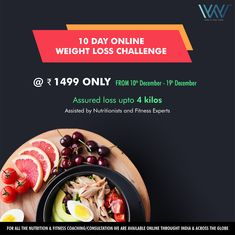 Challenge yourself with challenge and experience a whole new level of wow :) Weight Loss Challenge, new batch, new transformation stories & happy bodies :) To enroll simply call/message us at 88844 Worlds Of Wow, Weight Loss Challenge, Fitness Nutrition, 10 Days, Bodies, Lose Weight, Challenges, Happy, Food