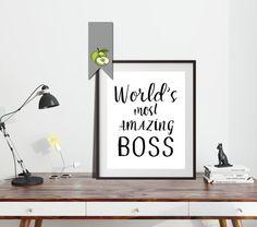 Boss appreciation gift Boss appreciation week by TheArtyApples