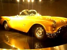 1954 F-88 Oldsmobile Concept Car. Only 2 complete models were ever built along with a possible 2 shells. 250 HP V8 Rocket engine. The one here was stored away for decades as parts in crates and is the only known survivor. It sold for $3.5M in 2007 at the Barret-Jackson auction in Scottsdale.