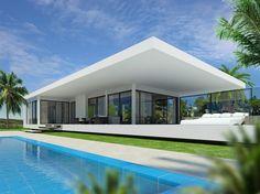 Uniek design villa concept