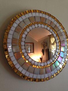 Miroir mosaïque élégante, pêche à la lumière                                                                                                                                                                                 More