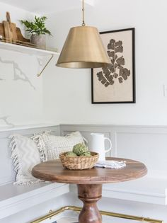 In an update on a tiny Tudor, Joanna Gaines zeroes in on merging Parisian and eclectic accents to suit the worldly tastes of couple relocating from Austin to Waco. Look for rooms and elements not featured in the original 'Fixer Upper' episode. Decor, Interior, Dining Furniture, Outdoor Dining Furniture, Home Decor, Breakfast Nook Decor, Decorating Coffee Tables, Hgtv Fixer Upper, Fixer Upper Kitchen