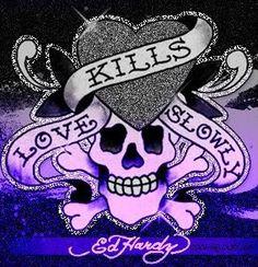 Love does kill slowly.