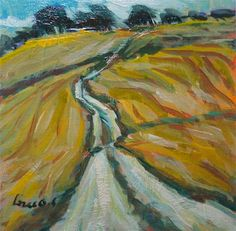 "Daily+Paintworks+-+""The+great+fields""+-+Original+Fine+Art+for+Sale+-+©+salvatore+greco"