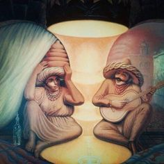 Surrealism and Optical Illusion Painting by Russian Artist Oleg Shu . - Surrealism and Optical Illusion Painting by Russian artist Oleg Shuplyak # des # artist # - Optical Illusion Paintings, Optical Illusions Pictures, Illusion Pictures, Illusion Drawings, Optical Illusion Tattoo, Cool Art Drawings, Art Drawings Sketches, Zebra Art, Indian Art Paintings