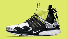 san francisco cbca0 b2a73 Ich biete den Acronym x Nike Air Presto Mid White Dynamic Yellow in Größe 44  an