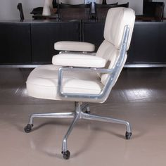 Charles Eames Time Life Chair | From a unique collection of antique and modern armchairs at https://www.1stdibs.com/furniture/seating/armchairs/