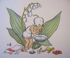 blumenkinder gemalt - Google-Suche