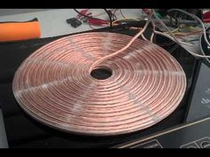 Tesla coil with Stan Meyer Water Fuel Cell & Distilled water - YouTube