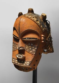 Africa | Biombo Mask, Democratic Republic of Congo.