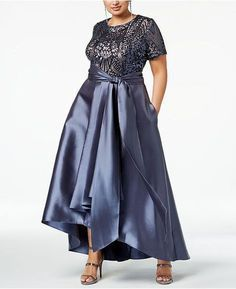 Plus Size Formal Dresses, Plus Size Gowns, Daytime Dresses, Evening Dresses, Pageant Dresses, Vestido Lady Like, High Low Gown, Big Size Dress, Mother Of Groom Dresses