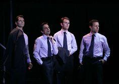 Jersey Boys La Jolla Playhouse Cast (2004): J. Robert Spencer, David Norona, Daniel Reichard, Christian Hoff.