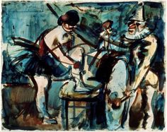 Georges Rouault (French, 1871 - 1958) La Parade, 1906