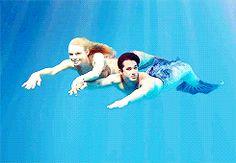 Zac and Lyla Mermaid Gifs, Mermaid Man, Mermaid Quotes, Fin Fun Mermaid Tails, Mermaid Ornament, Mermaid Swimming, Girl In Water, Sailor Saturn, Mermaids And Mermen