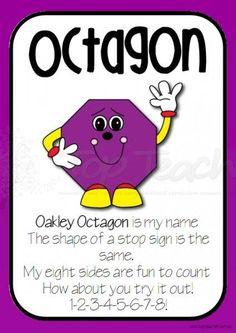 shape poem posters octagon