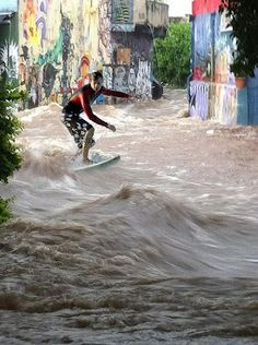 Surfing the streets of Sao Paulo