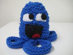 Sir Galahappy, the Chivalrous Squid $18.00 Crochet Necklace, 18th, Jewelry, Jewlery, Crochet Collar, Jewels, Jewerly, Jewelery, Accessories