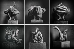disregarded Hand Photography, Monochrome Photography, Surrealism Photography, Weird Creatures, Hand Art, Italian Art, Urban Landscape, Light And Shadow, Contemporary Artists
