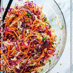 Recipe developer, author and photographer at Carve Your Craving.Quick, easy and mostly healthy. Vegan and vegetarian eats and bakes. Healthy Coleslaw Recipes, Healthy Salads, Salad Recipes, Potluck Dishes, Veggie Dishes, Small Cabbage, Bean Recipes, Drink Recipes, Seafood Recipes
