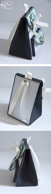 Małe fantazje Oli: KURS na pudełko w kształcie plecaka