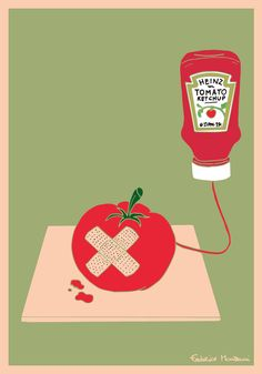 Tomato Ketchup by Federico Monzani