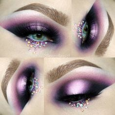"""1,021 Likes, 20 Comments - Sarah Fisher  (@sleepologist) on Instagram: """" This gorgeous eyelighter on my lid is called """"hearts on fire"""" --from @johnnyconcert!!! Other…"""""""