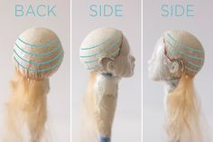 How to make a wig for a doll? By Adele Po. How to make a wig for a doll? Annick Leyser-Guth aleyserguth puppen How to make a wig for a doll? By Adele Po. Annick Leyser-Guth How to make a wig for a doll? By Adele Po. Diy Doll Wig, Diy Wig, Doll Wigs, Doll Head, Doll Face, Art Doll Tutorial, Yarn Wig, Doll Making Tutorials, Wig Making